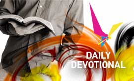 Get our daily devotional message