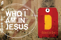 disciple Postcard - Who I am in Jesus