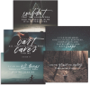 Freedom in Christ Notelets - Pack of 10 (2 of each design)
