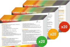 Freedom In Christ Course Postcard Pack (20x3)