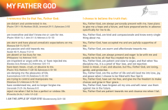 Freedom In Christ Course Postcard - My Father God